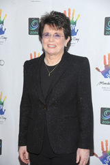Actor Billie Jean King