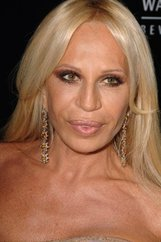 Actor Donatella Versace