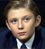 Actor Barron Trump