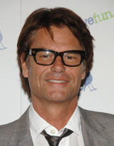 Actor Harry Hamlin