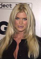 Actor Victoria Silvstedt