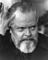 Actor Orson Welles