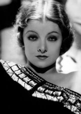 Actor Myrna Loy