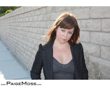 Actor Paige Moss