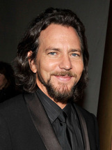 Actor Eddie Vedder