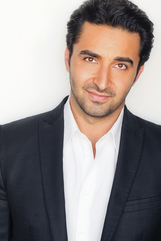 Actor Pej Vahdat