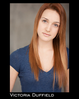 Actor Victoria Duffield