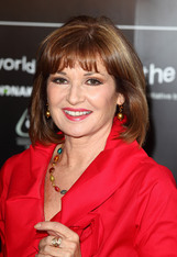 Actor Stephanie Beacham