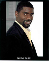 Actor Nicoye Banks