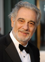 Actor Plácido Domingo