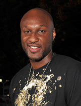 Actor Lamar Odom