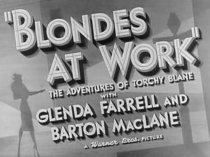 Movie Blondes at Work