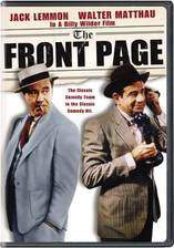 Movie The Front Page