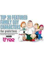 Movie Family Guy: The Top 20 Characters