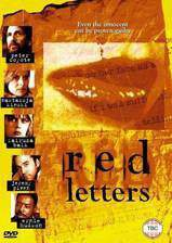 Movie Red Letters